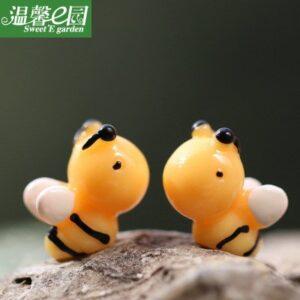 Ong decor, ong mini, con ong decor, ong trang tri, ong decor tiểu cảnh terrarium