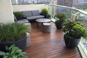 thiết kế ban công cây xanh chung cư biệt thự