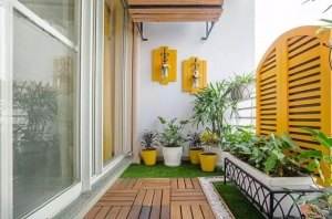 trang trí ban công, trang trí bancoong đẹp, cây xanh ban công, trồng cây ban công, thiết kế ban công