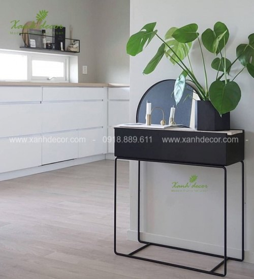 plantbox trồng cây, plantbox trang trí, plantbox, hộp sắt trồng cây, giá sắt trồng cây